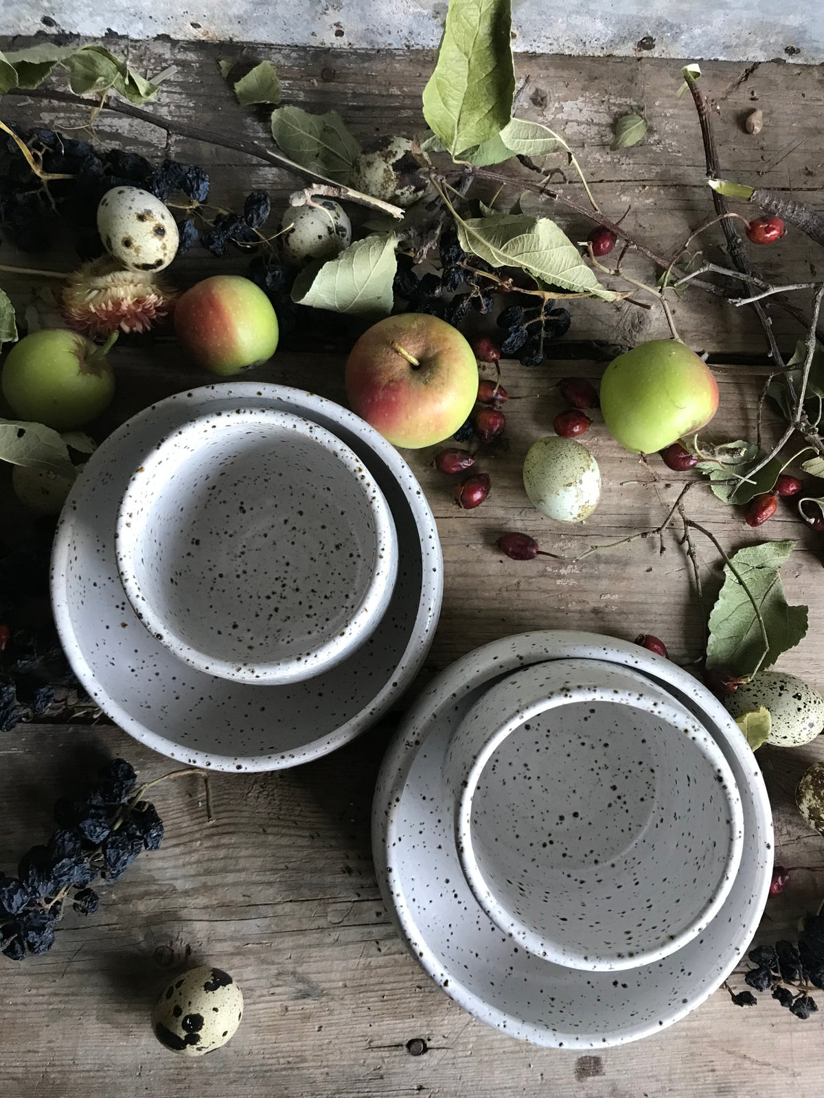 Image of Breakfast set for two