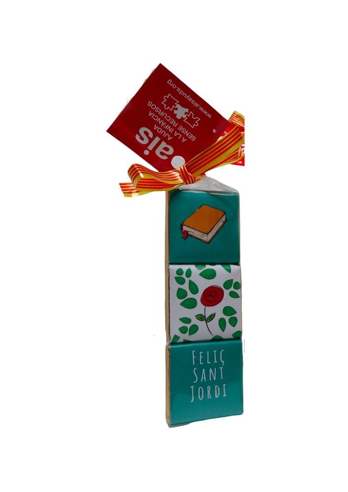 Image of Chocolatinas de Sant Jordi - Xocolatines de Sant Jordi