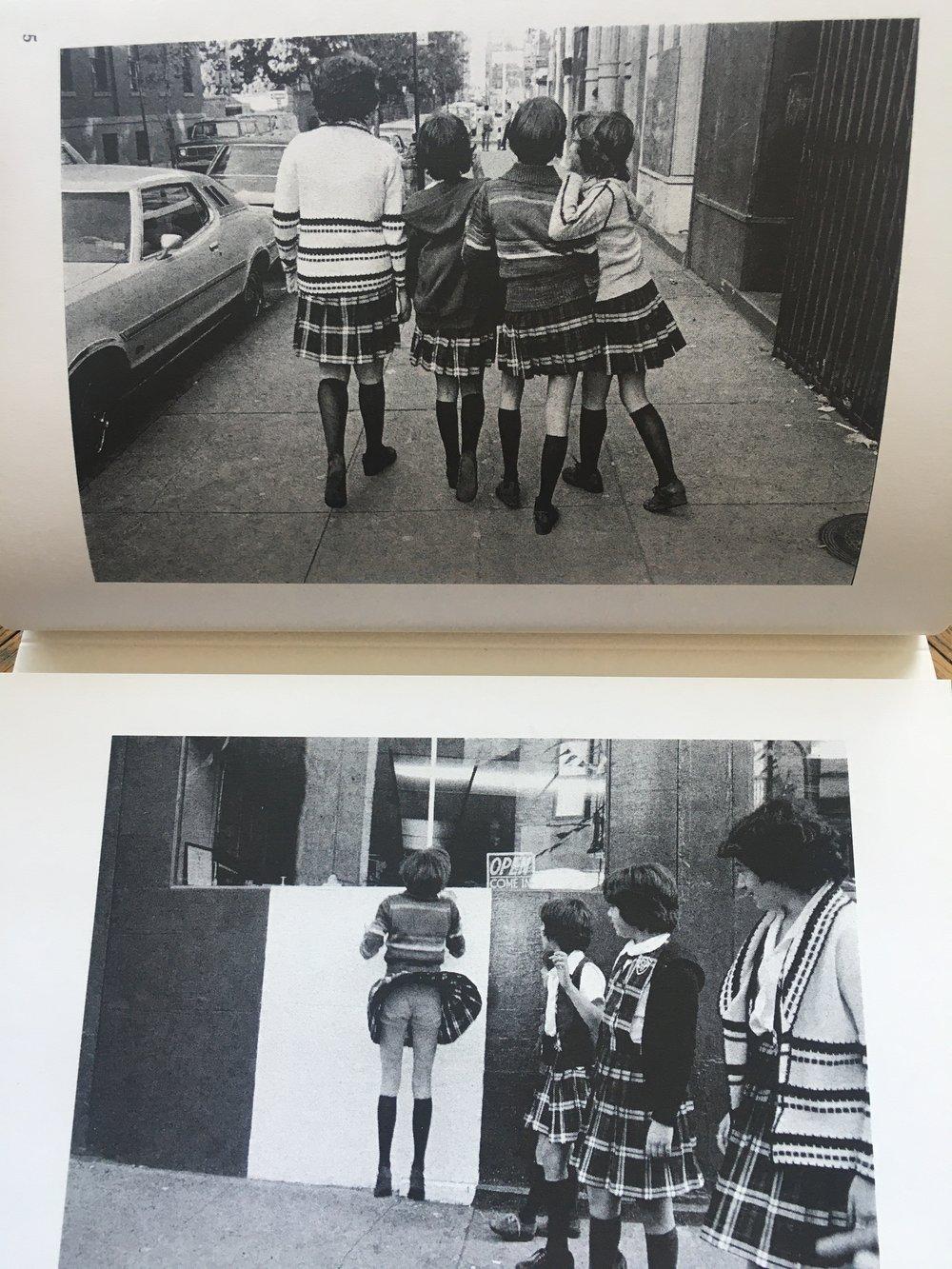 Prince Street Girls / Susan Meiselas (Signed)