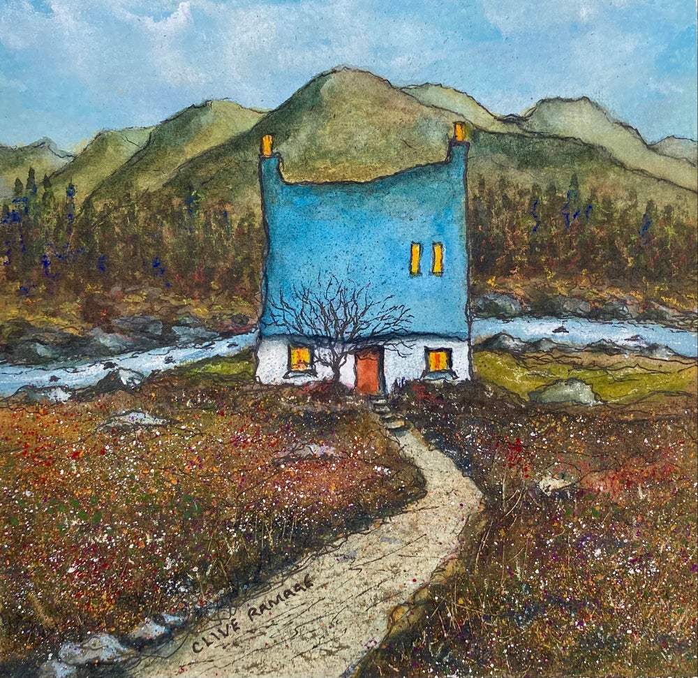 Image of Mountain Bothy (Red Door)