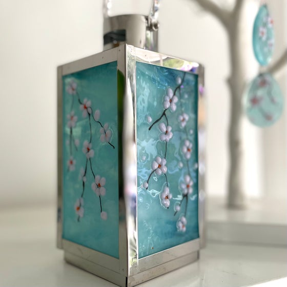 Image of Cherry blossom lantern