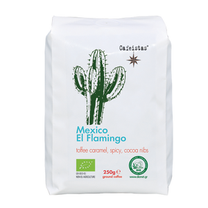 Image of el flamingo - mexico - 250g - organic certified - coffee beans / ground