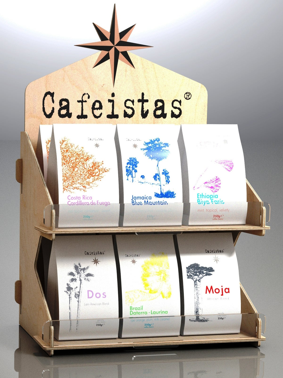 Image of cafeistas promo stand