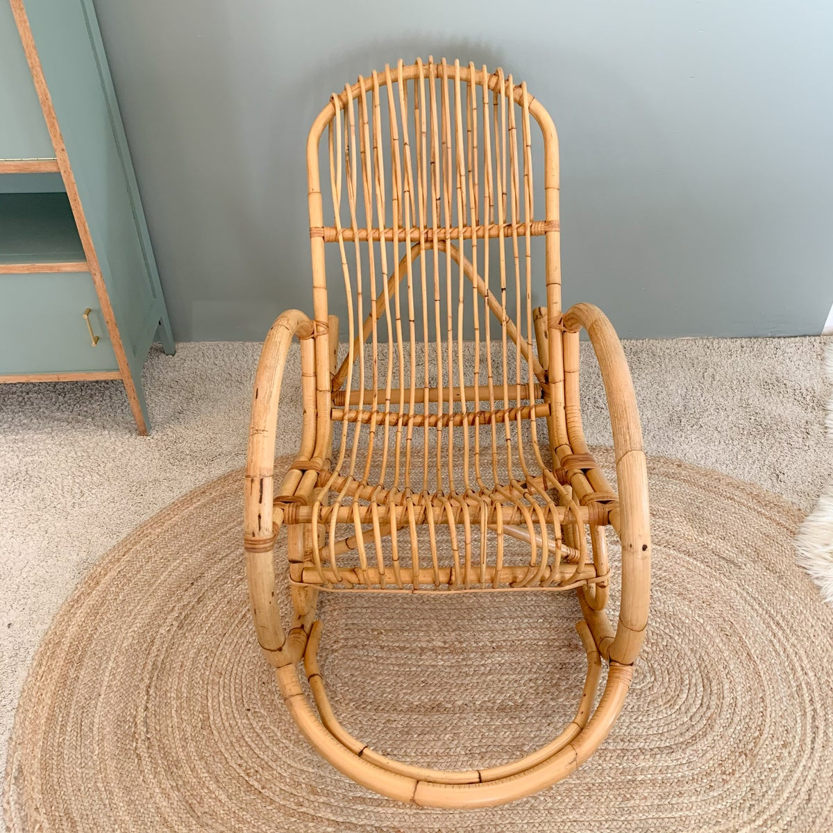 Image of VENDU/SOLD OUT Rocking Chair Mint