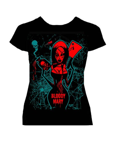 Image of BLOODY MARY - medvWOMANS SHIRT -