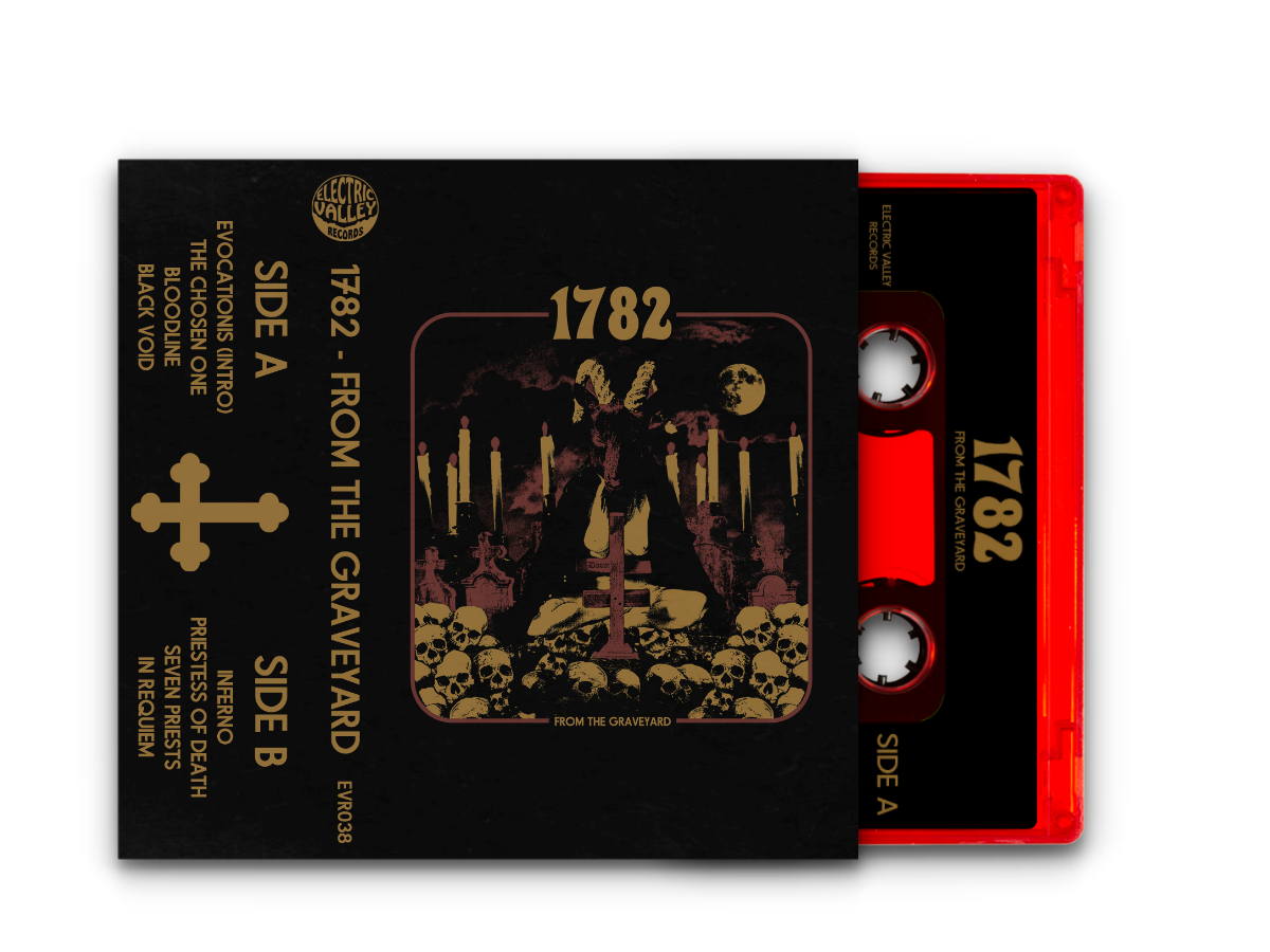 Image of 1782 - From The Graveyard cassette