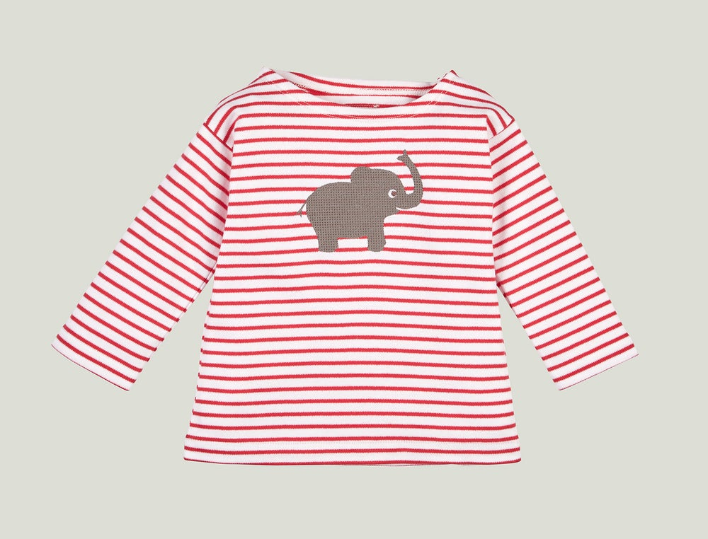 Image of Elefanten Shirt rot Art. 207265