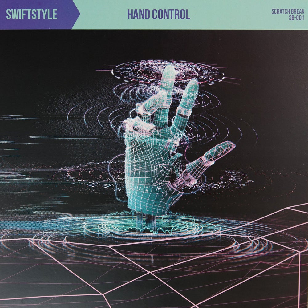 "Image of 12"" Vinyl - Swiftstyle - ""Hand Control""  (SB001) Mint Pearl vinyl"