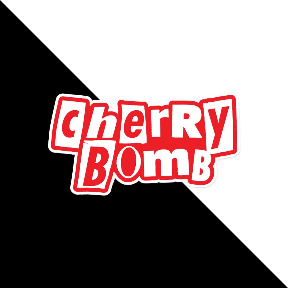 Cherry Bomb Ransom Sticker