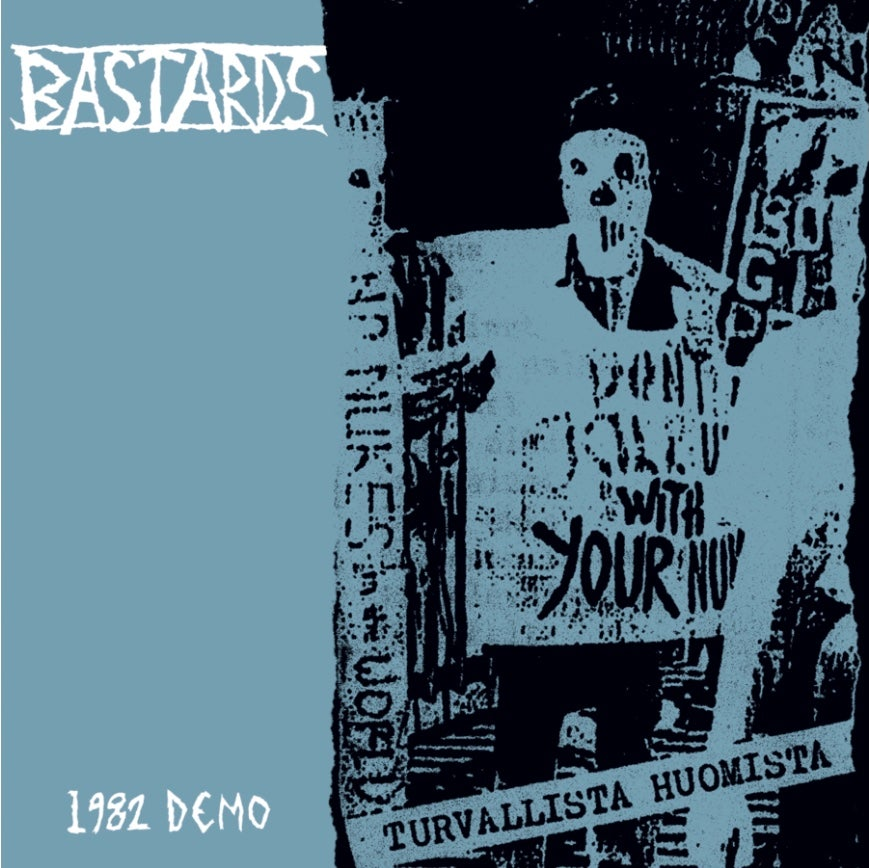 Image of Bastards-1982 Demo LP Generation Records Exclusive Green Vinyl Pre-Order