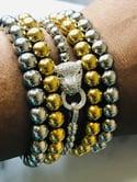 The Leopard Toggle bracelet