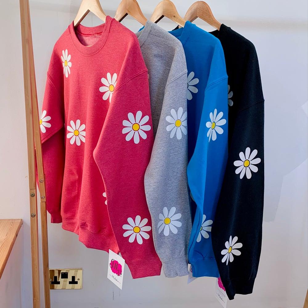 oops a daisy sweatshirt - adult
