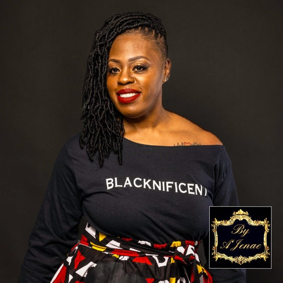 Image of BLACKNIFICENT Off-shoulder Top