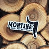 Montana Last Best Place Sticker