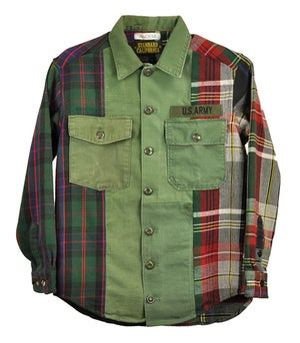 Image of ANDEM x SD Remake Army Shirt No.1