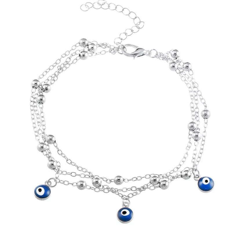 Image of Evil eye Anklet bracelet
