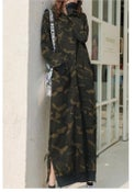 Image of Army sweater dress