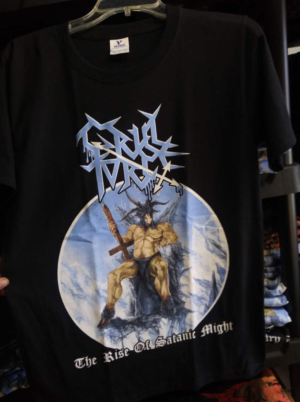 Cruel Force The Rise of Satanic Might T-SHIRT *Imported*