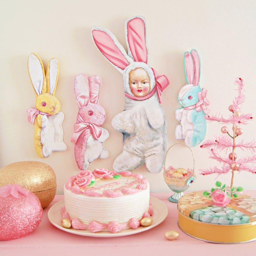 Image of Bunny Baby plaque