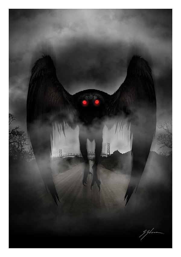 The Mothman of Point Pleasant.