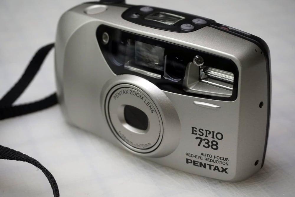 Image of Pentax Espio 738 - SILVER