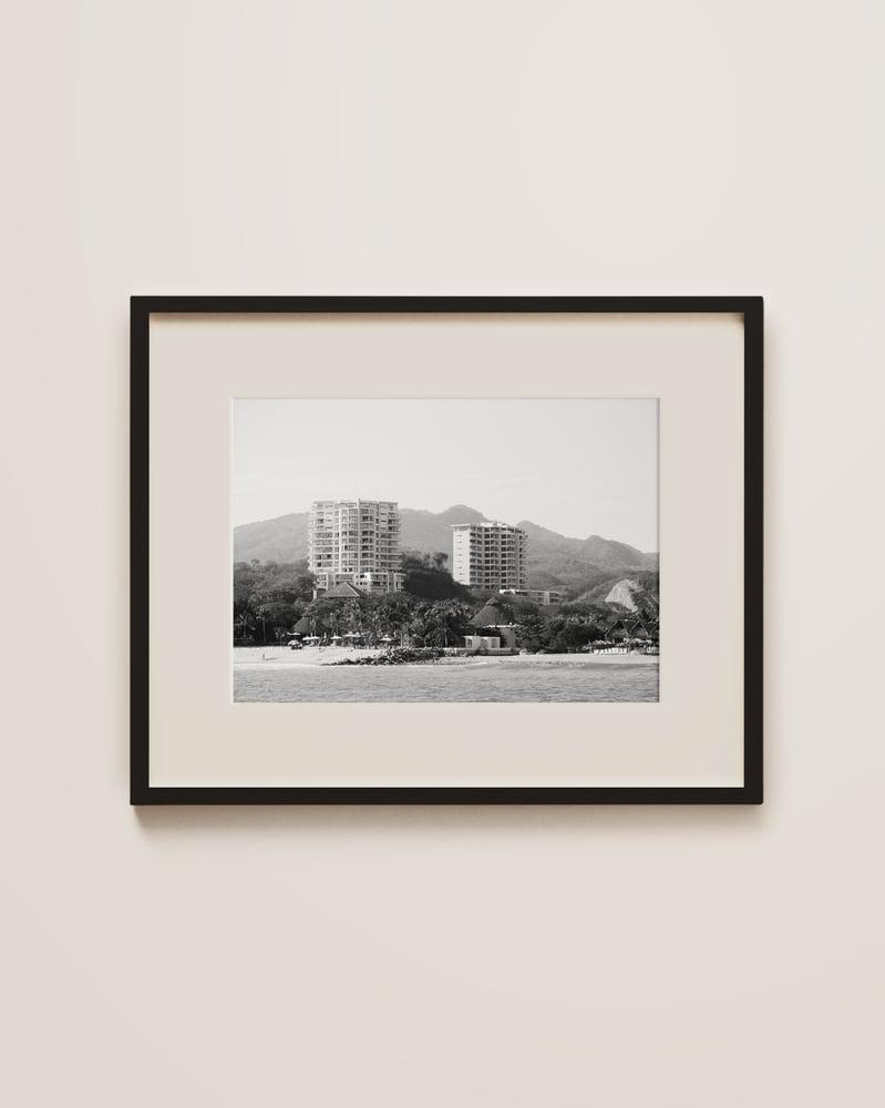 Image of Black and White Puerto Vallarta