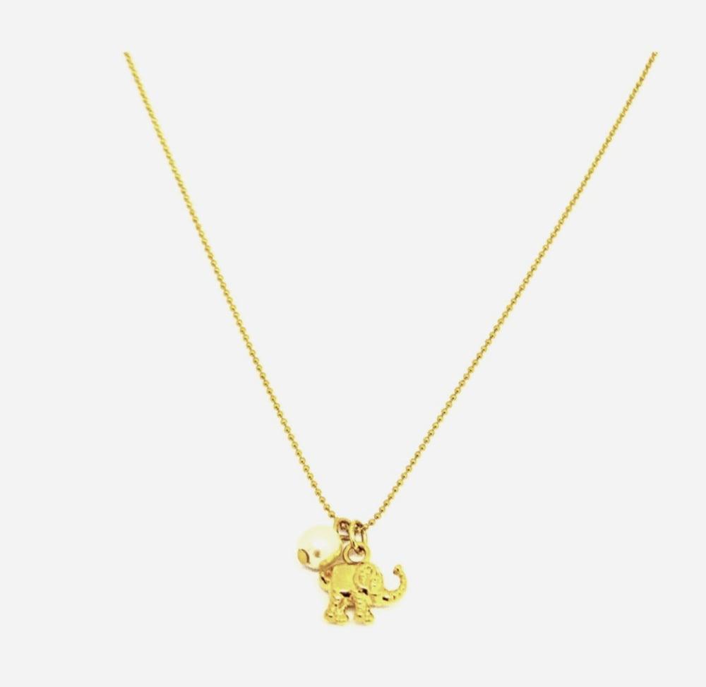 Image of Elephant Necklace