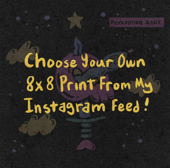 Image of Select your own 8x8 print from my Instagram  feed