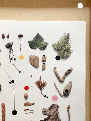 Image of Dotted Nature poster