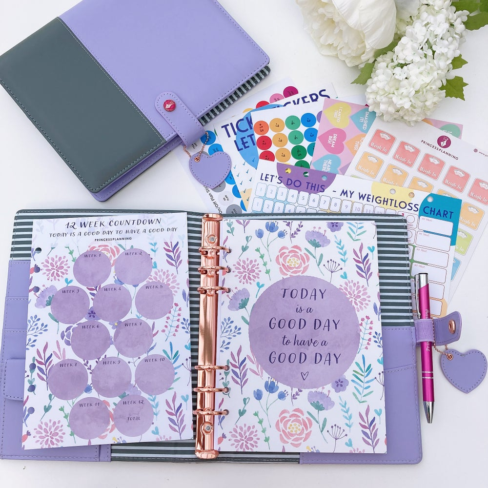 Image of NEW TWO TONE LOLA FULLY LOADED FOOD DIARY ORGANISER