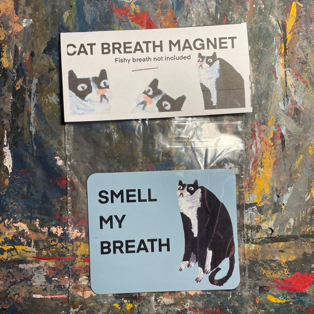 CAT BREATH magnet!
