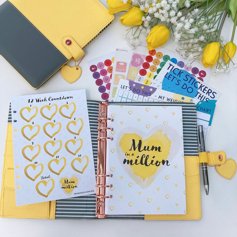 Image of TWO TONE -SALLY SUNSHINE  & GREY FULLY LOADED BUNDLE - MUM IN A MILLION