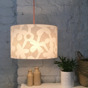 Image of Clover Haze Large Lampshade