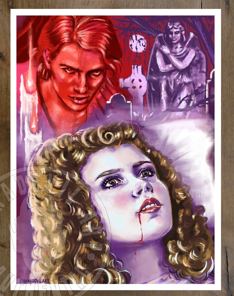 Image of Interview with the Vampire Art print (9x12 in.)