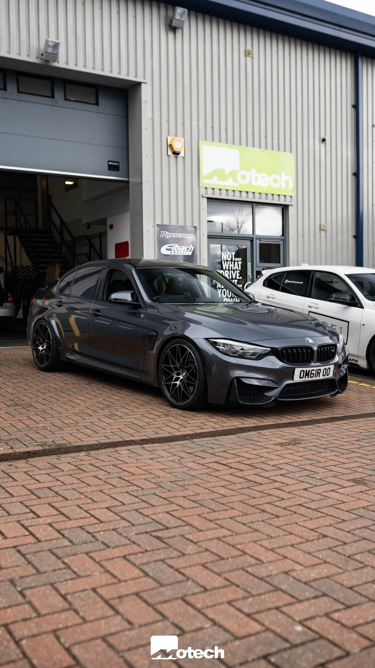 Image of BMW M3 Motech Stance Lowering Springs -20mm (F80)