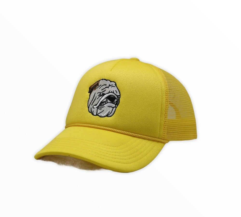 Image of Poppy limited edition Yellow Trucker hat