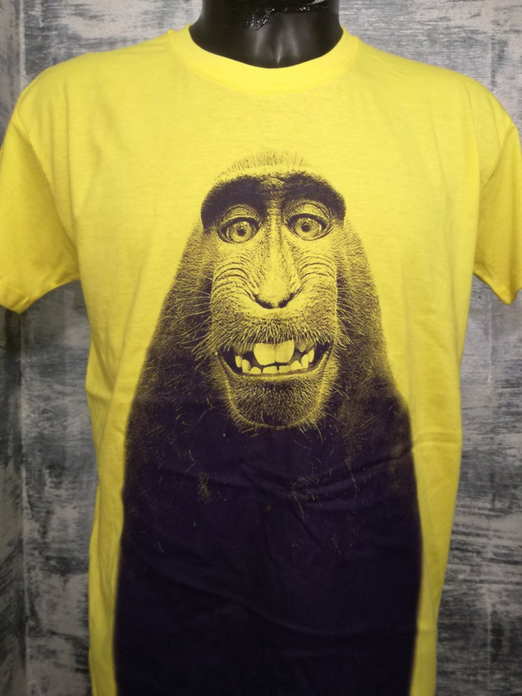 Image of Selfie Monkey t shirt