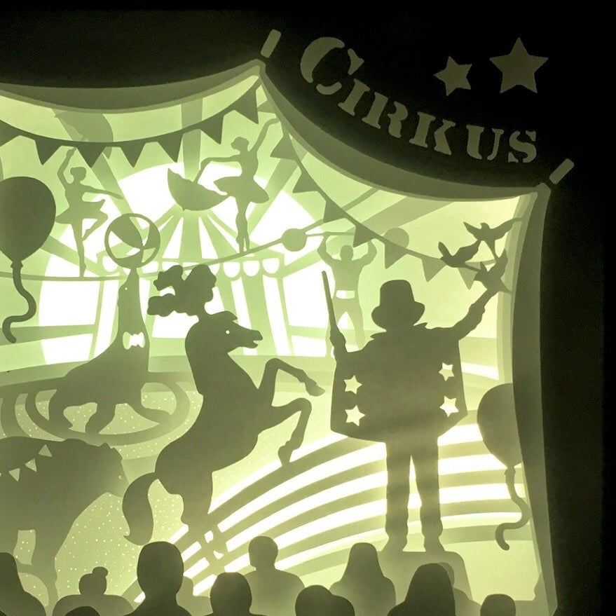 Image of Circus Night Light