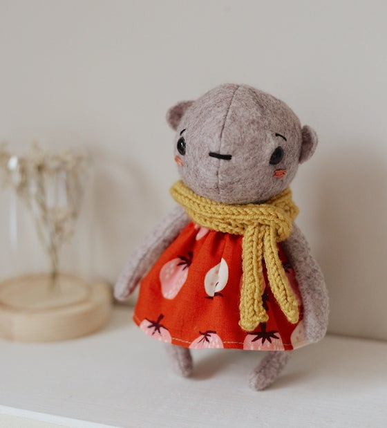 Image of Mabel - bear doll / teddy collectable
