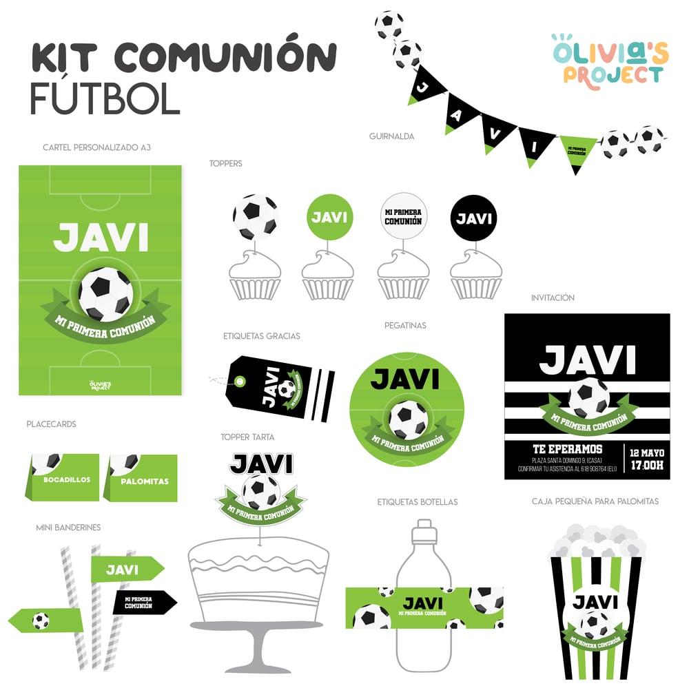 Image of Kit de Comunión Fútbol Impreso