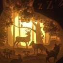 Image 1 of Enchanted Forest Night Light _Gul