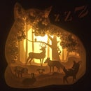 Image 2 of Enchanted Forest Night Light _Gul