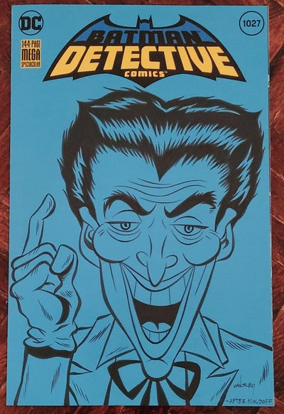 Image of THE JOKER ORIGINAL ART SKETCH COVER! DETECTIVE COMICS #1027!
