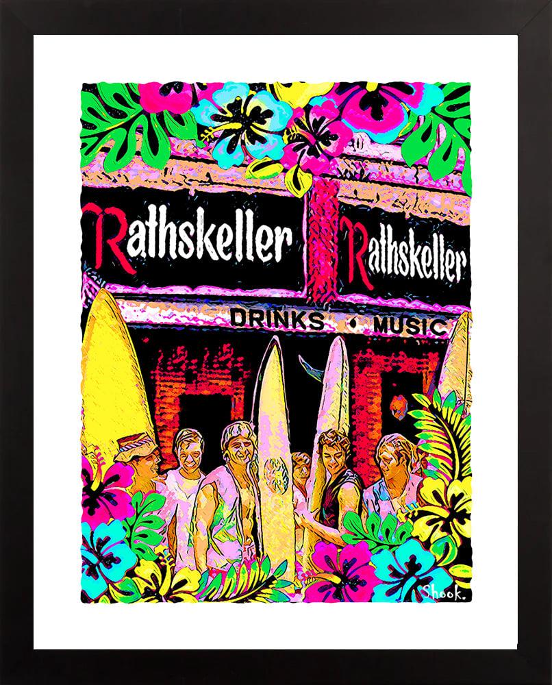 """The Rathskeller """"Surf's Up"""" Giclée Art Print - 11"""" x 14"""""""