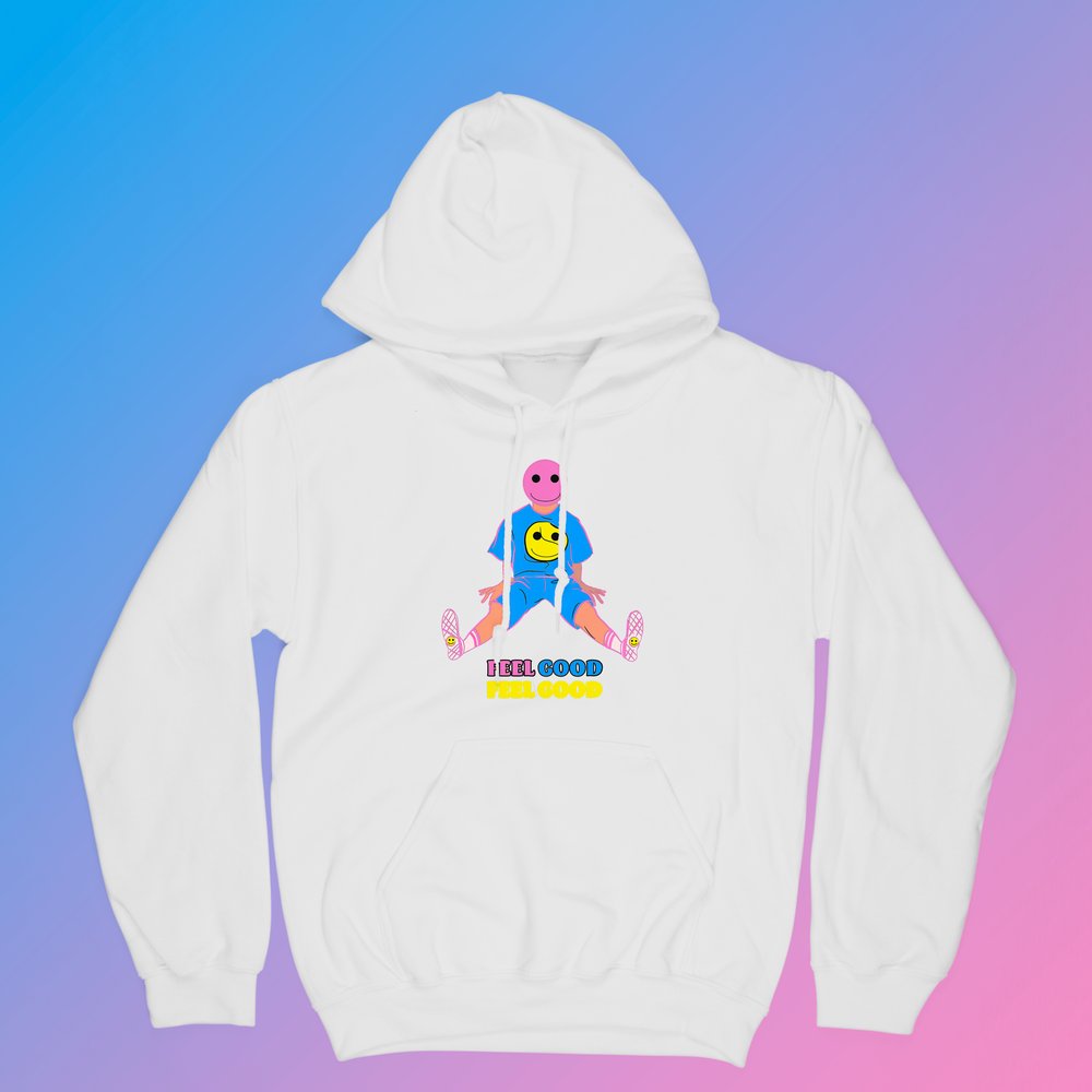 Image of Spring 2021 Collection: White Feel Good Hoodie
