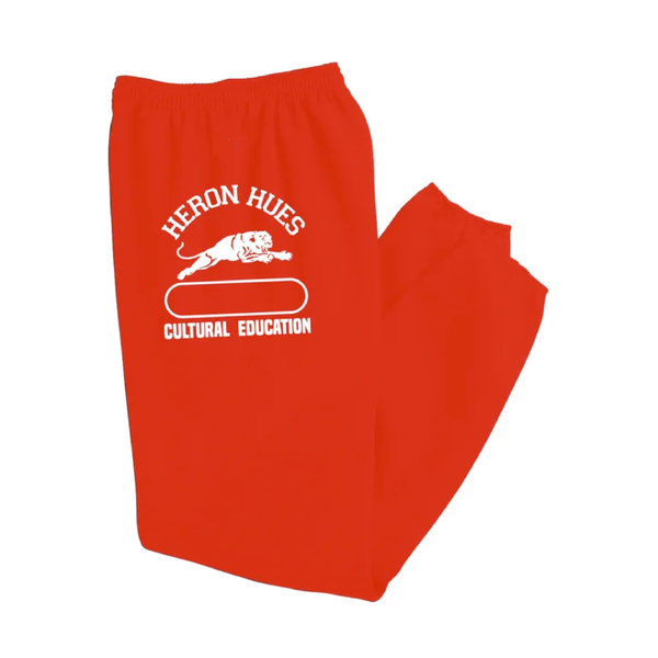 Image of Red Culture Education Sweatpants