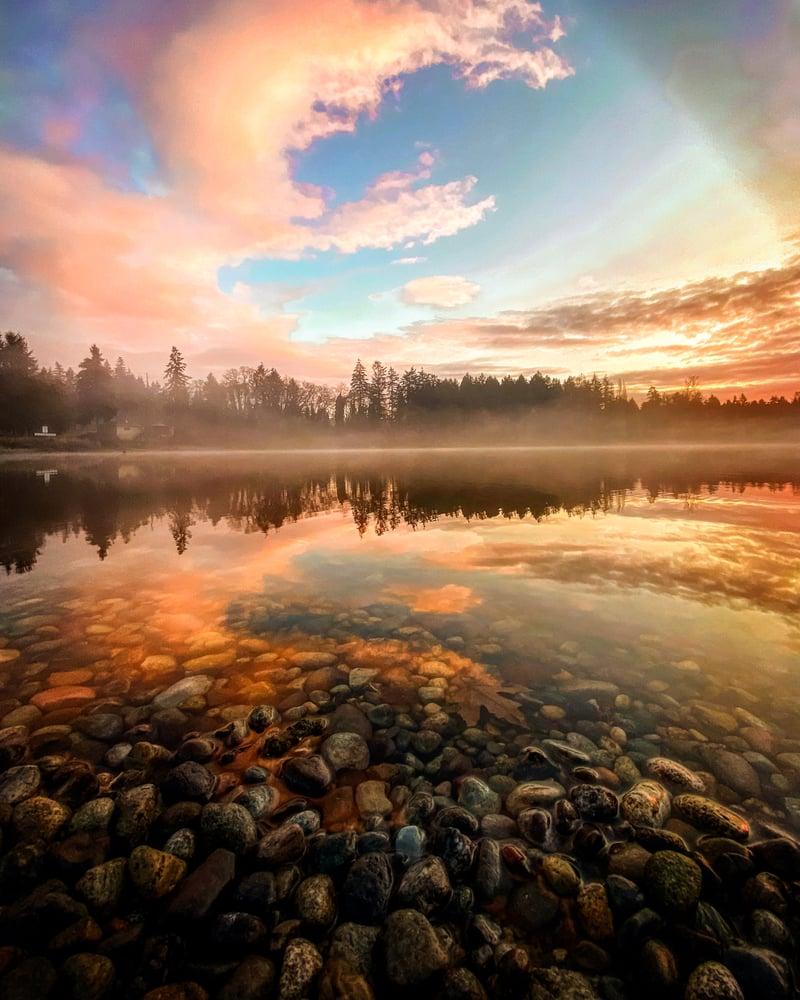 Image of Sunset print