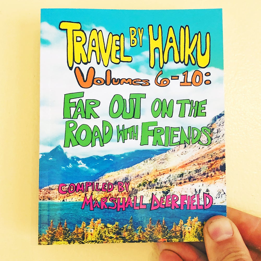Image of Travel By Haiku, poetry collection (2021)