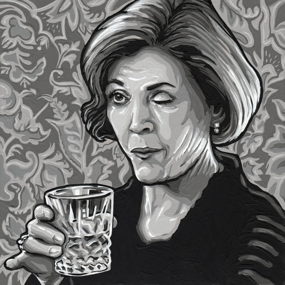 She Drink - Original Painting