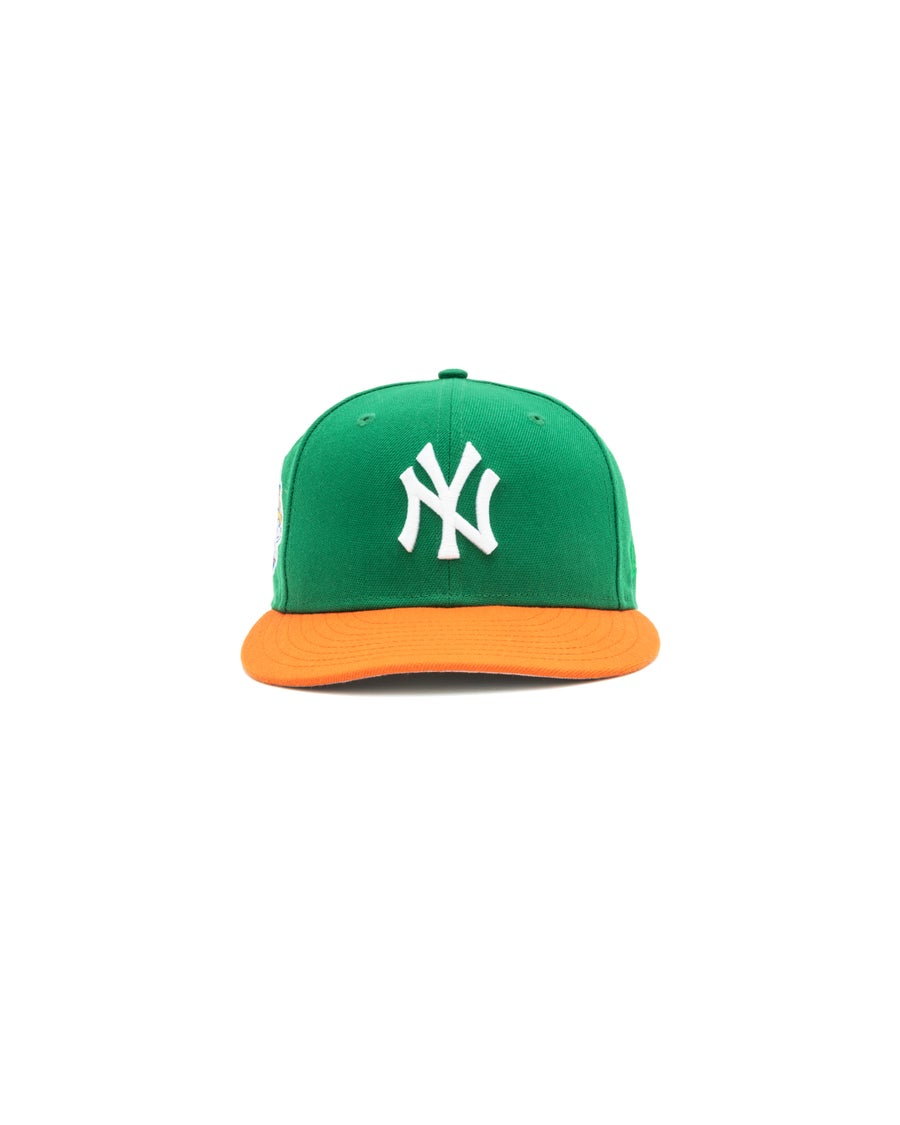 Image of Hat Club x JaeTips- Yankee Green/Orange
